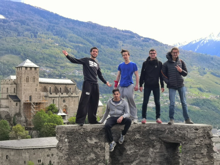 Coaches Parkour Valais